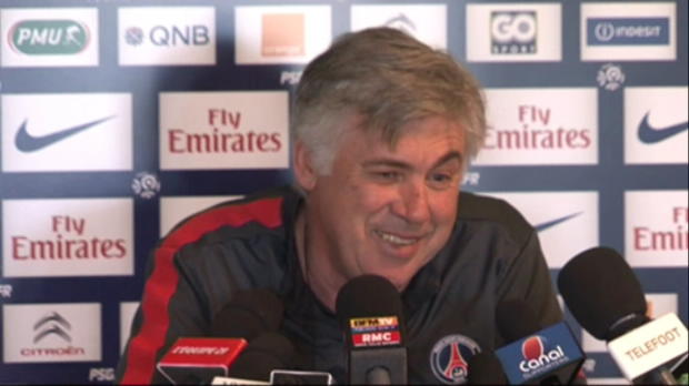 PSG - Ancelotti : 