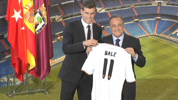 Foot Transfert, Mercato Transferts - Real Madrid, Bale r�alise son r�ve