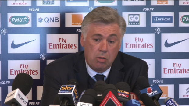Foot Transfert, Mercato PSG - Ancelotti, bouche cousue