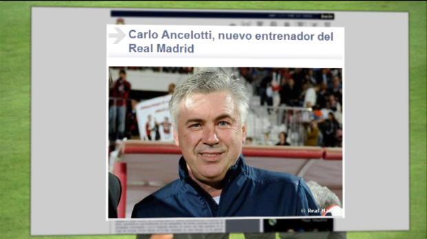 Foot Transfert, Mercato Transferts - Le Real confirme pour Ancelotti