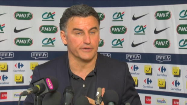 CDF - ASSE, Galtier : 'Dception et frustration'
