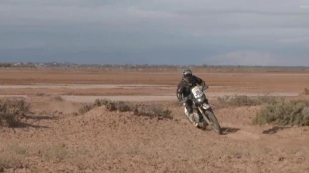 Desafio Ruta 40: Rider death mars stage four