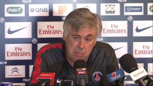 CDF - PSG, Ancelotti : 'Trois matchs pour gagner'