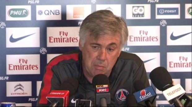 CDF - PSG, Ancelotti : 'Trois matchs pour gagner'