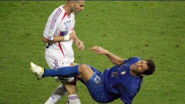 Zidane dans l'�quipe de r�ve de Materazzi