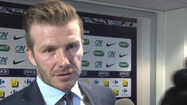 PSG - Beckham : 'Le montant de mon salaire est priv'