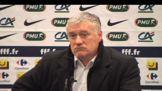 CDF - Deschamps f�licite ses attaquants