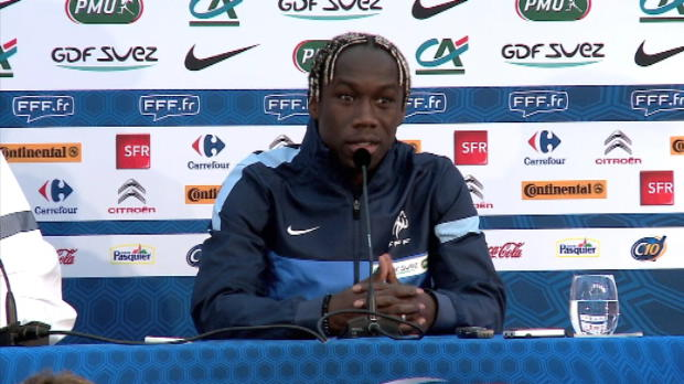 Bleus - Sagna : 'Trs mu'