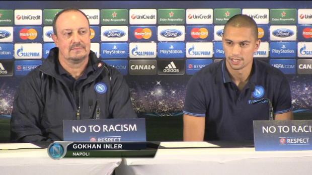 LDC - Groupe F : Naples, Inler : 'Un match important pour nous'