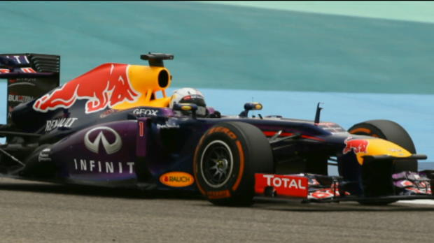 Vettel on top in Bahrain
