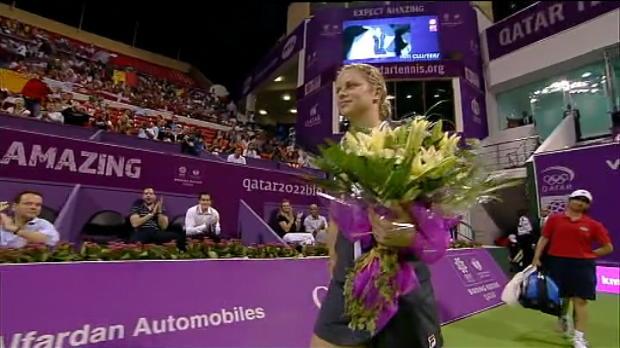 NEWS - Les adieux de Clijsters