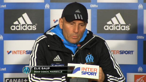 OM - Baup : 'Injuste pour nos supporters'