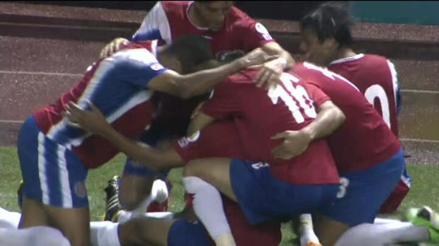 Qualif CDM 2014 - Le but fantastique du Costa Rica