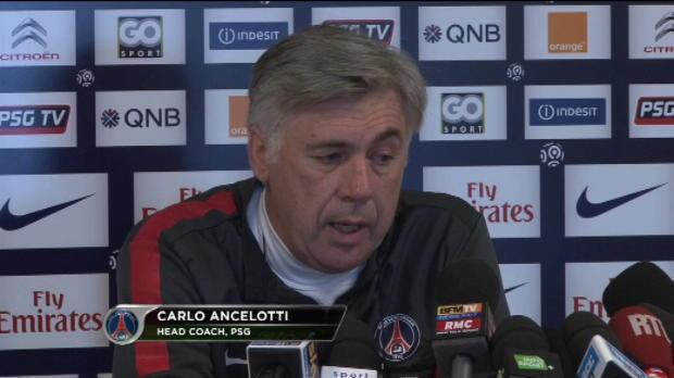 CdF, 8e de finale - Ancelotti - 'Beckham doit faire du Verratti'