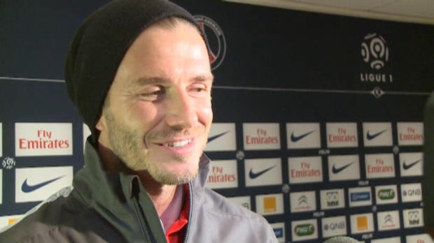 PSG - Beckham, des larmes et aucun regret