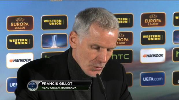 C3 - 8�me de finale, Gillot : 'Douze matches quand m�me...'