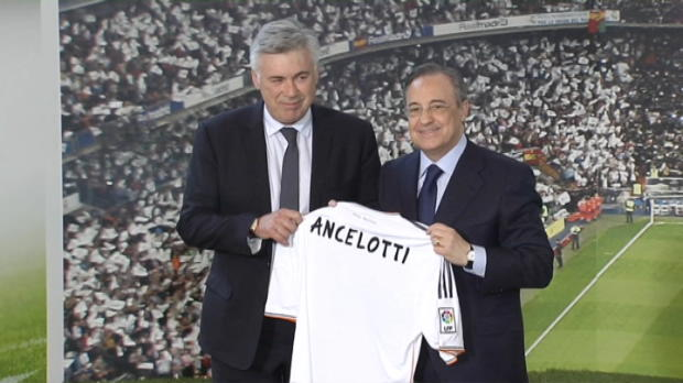 Foot Transfert, Mercato Liga - Real Madrid, La r�volution Ancelotti
