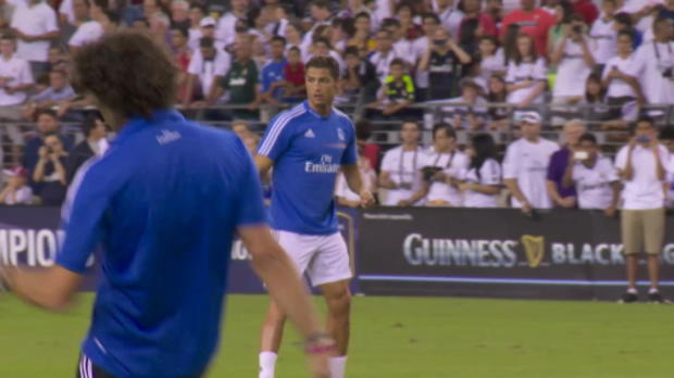 Foot Transfert, Mercato Liga - Real Madrid, Ancelotti : 'Ronaldo joue o� il veut'