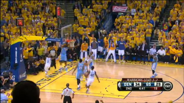 Vid�o - Playoffs - Les Warriors qualifi�s