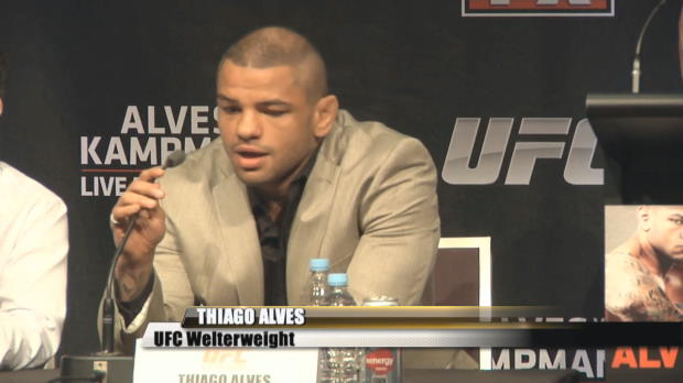 UFC on FX Pre-Presser - Alves vs. Kampmann Highlights