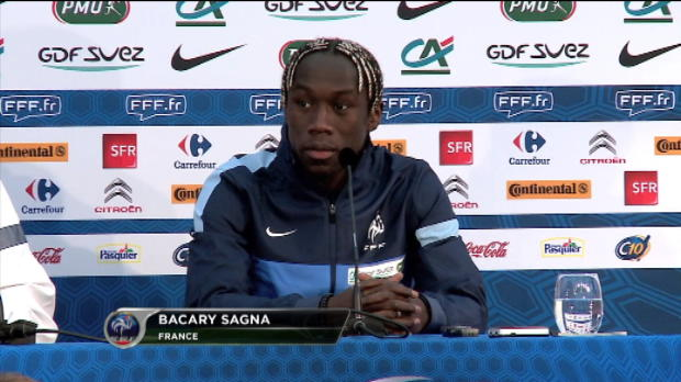 Bleus - Sagna : ''Regagner le public franais''