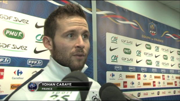 Bleus - Cabaye : ''Ne pas en vouloir � Capoue''