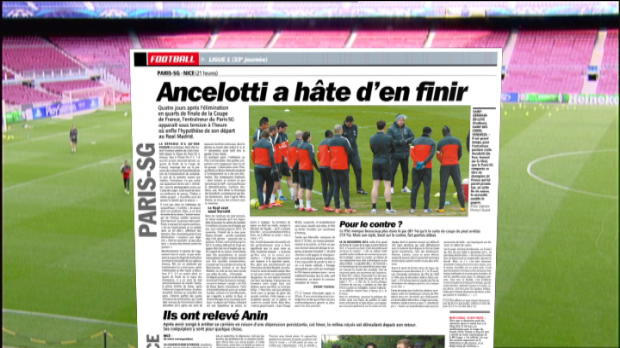 PSG - Ancelotti, le titre et ciao?