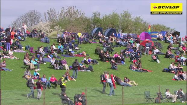 BTCC Thruxton highlights