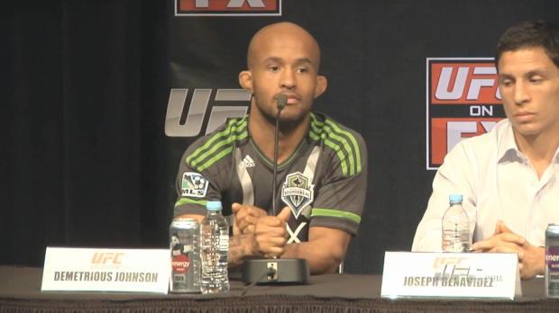 UFC on FX Pre-Presser - The Flyweights' Highlights