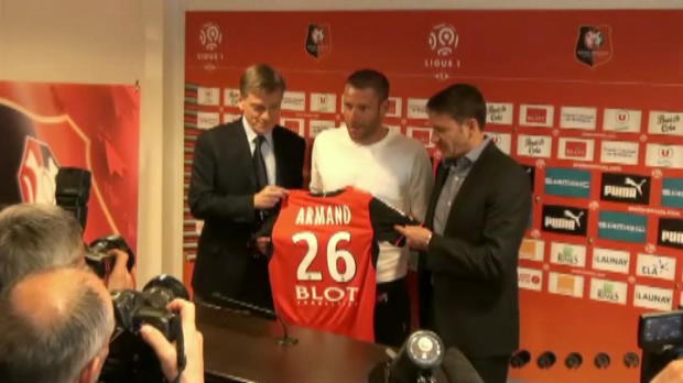 Foot Transfert, Mercato Rennes - Armand officiellement pr�sent�