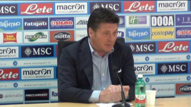Serie A - 32�me journ�e, Mazzarri�: 'Au pire, on aura toujours 1 point'