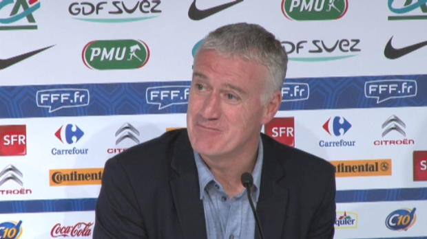 Bleus - Deschamps : ''La porte est ouverte''