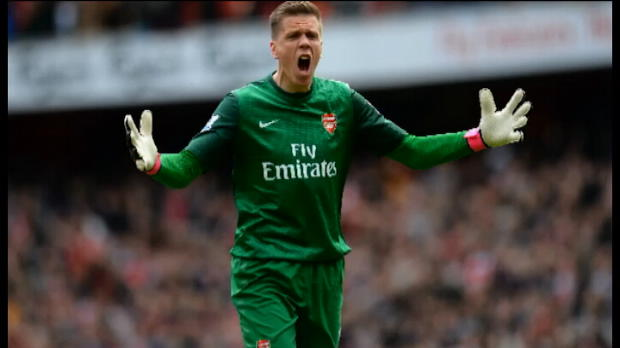 P.League - Arsenal, Szczesny pas fan des Spurs