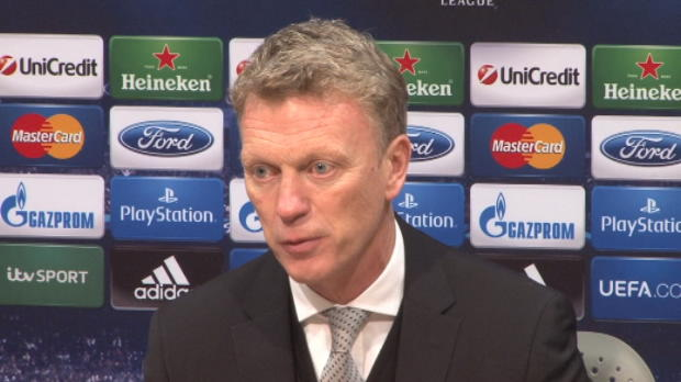LDC - Groupe A : Man United, Moyes : 'J'�tais inexp�riment�'