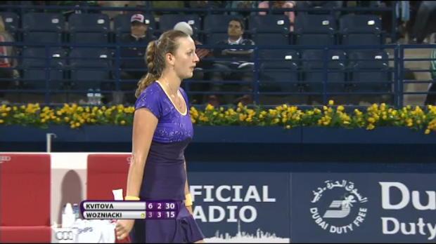 Vidéo - Dubaï - Kvitova atteint la finale