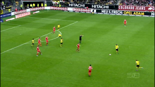 Bundesliga - 31�me journ�e, But spectaculaire de Sahin