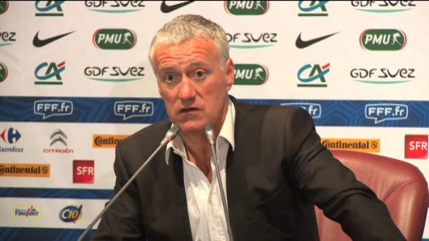 Bleus - Deschamps : 'Evra, c'est un choix sportif'