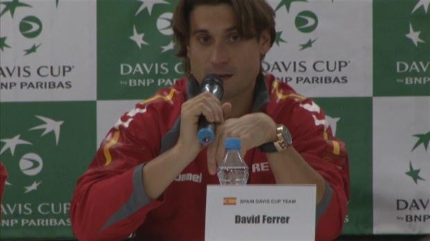 NEWS - Coupe Davis - Ferrer - 'Tr�s fier de notre �quipe'