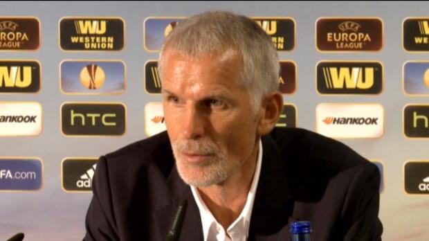 L.Europa - Groupe F : Girondins, Gillot�: 'On va essayer de gagner le 3�me match'