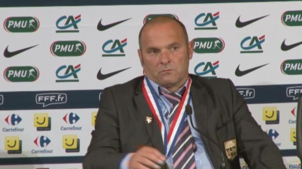 CDF - Evian, Dupraz : 'Une bonne f�te du football'
