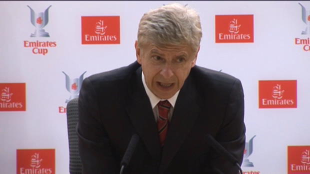 Foot Transfert, Mercato Emirates Cup - Arsenal, Wenger confirme que Fabregas n'ira nulle part