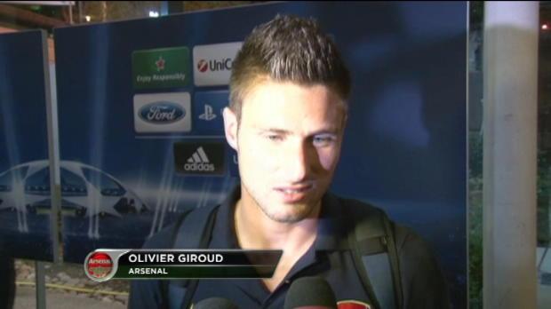LDC - Arsenal, Giroud : 'Il faut tourner la page'