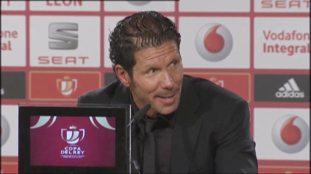 Coupe du Roi - Simeone : 'On ne ralise pas'