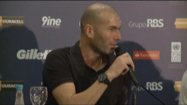 Bleus - Zidane : 'Le Br�sil a impr�gn� mes gestes'