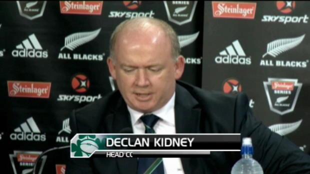 Test match : Test match - Kidney - ?Je suis honoré d'être coach?