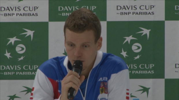 NEWS - Coupe Davis - Berdych - ''Il jouait trop bien''