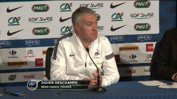 Bleus - Deschamps - 'La meilleure quipe reste l'Espagne'