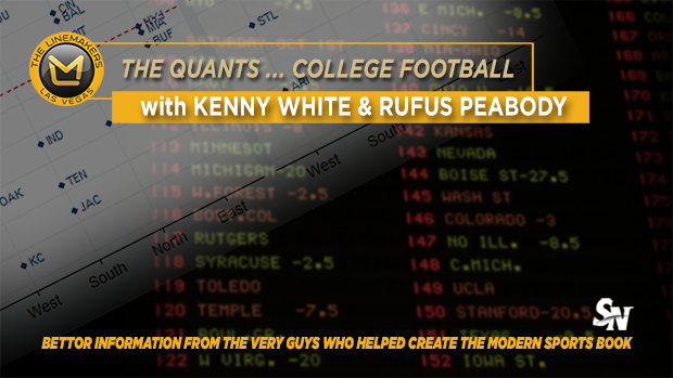 The Quants' Week 13 college picks