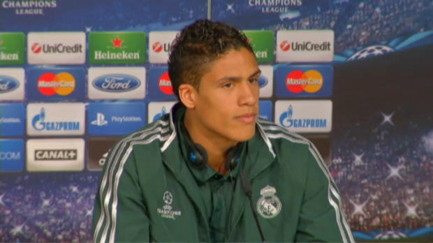 LDC - Real Madrid, Varane : 'Une tape importante'