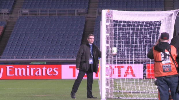 FIFA - GoalControl d�sign� pour la technologie sur le but